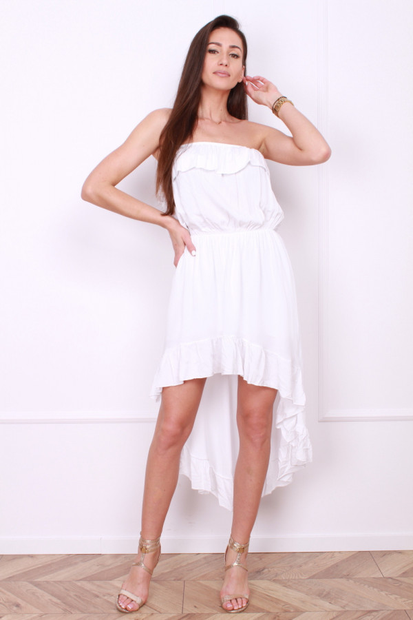 Sukienka z odkrytym dekoltem 4
