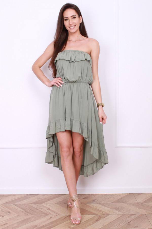 Sukienka z odkrytym dekoltem 3