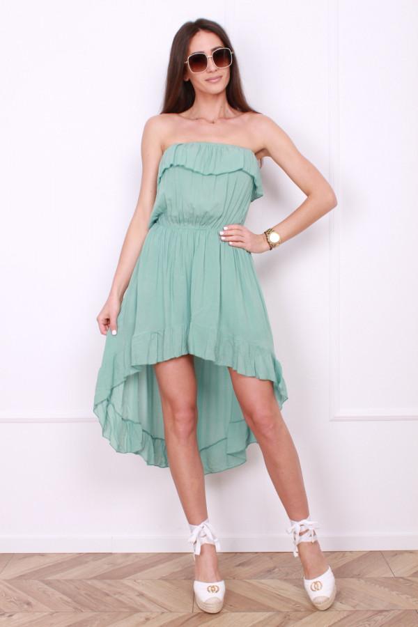 Sukienka z odkrytym dekoltem 8