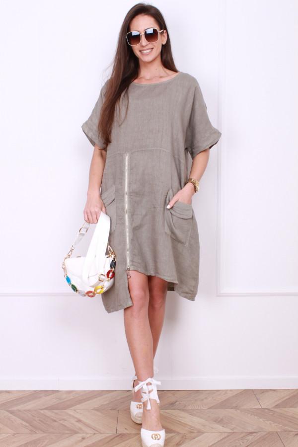 Sukienka z suwakiem 8