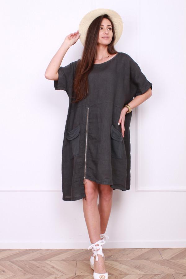 Sukienka z suwakiem 9