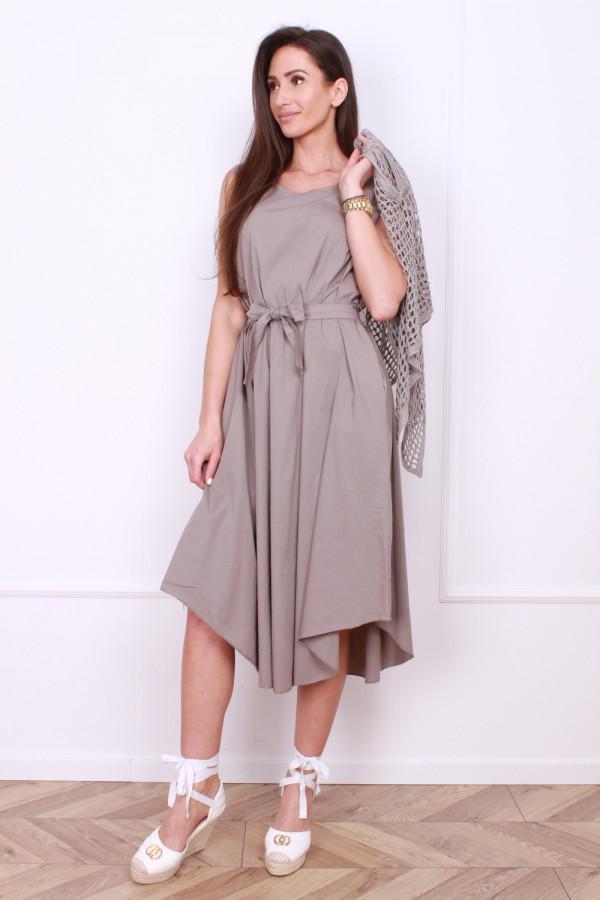 Sukienka z ażurowym bolerkiem 3