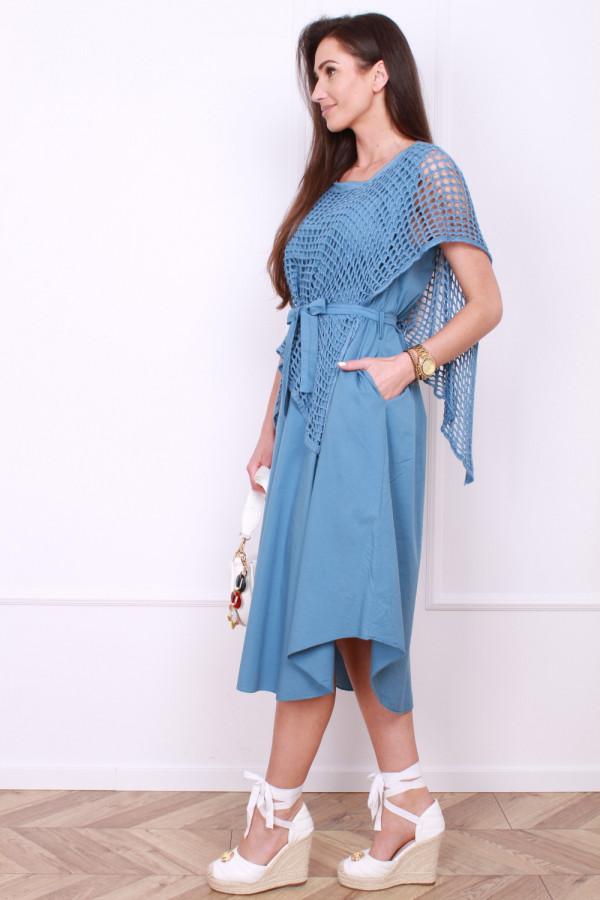 Sukienka z ażurowym bolerkiem 1