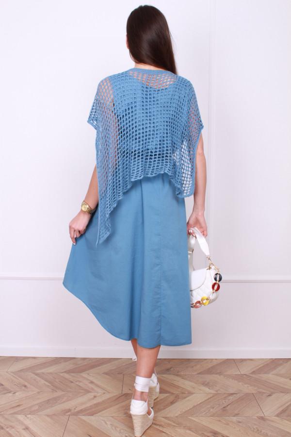 Sukienka z ażurowym bolerkiem 2