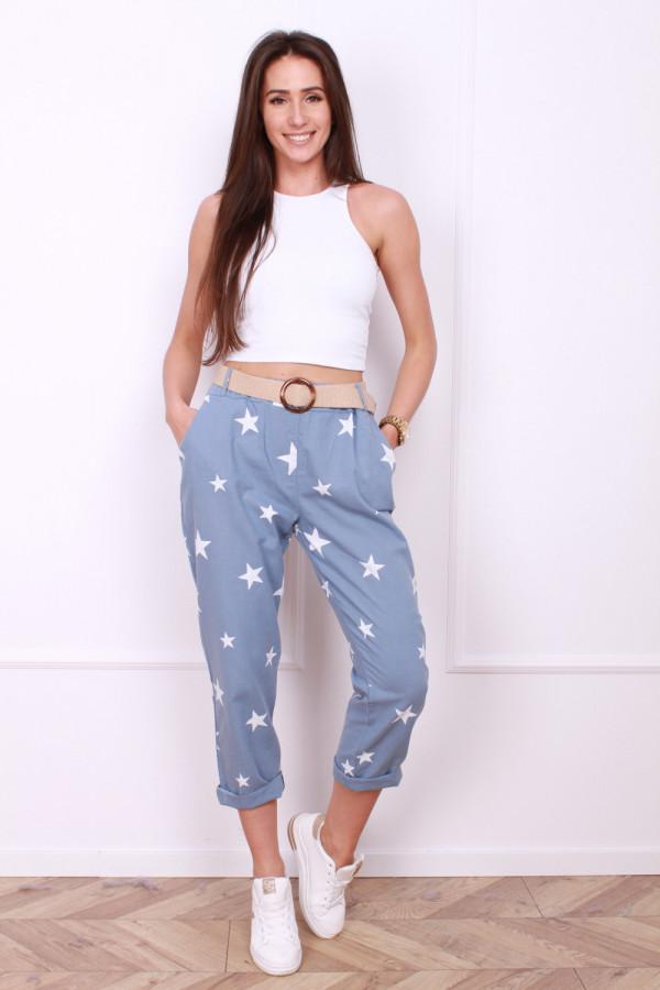 Spodnie w gwiazdy