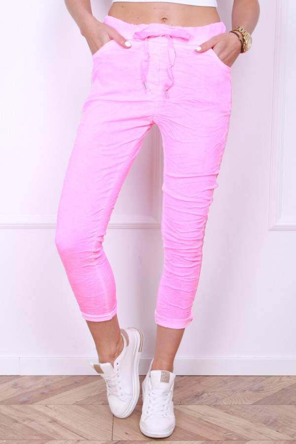 Spodnie neonowe 3