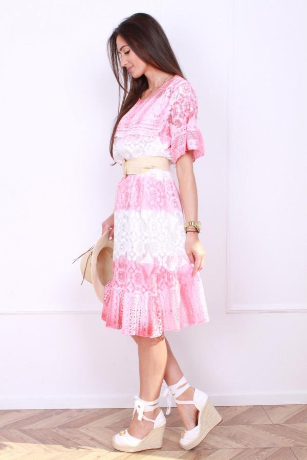 Sukienka dwukolorowa 1