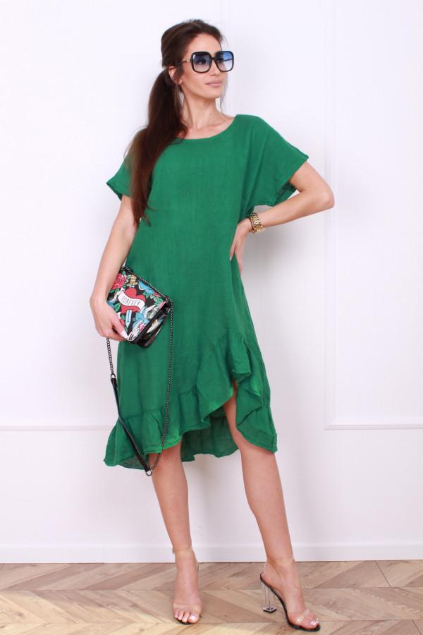Sukienka lniana 4