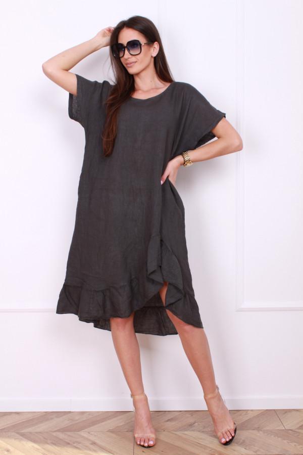 Sukienka lniana 5