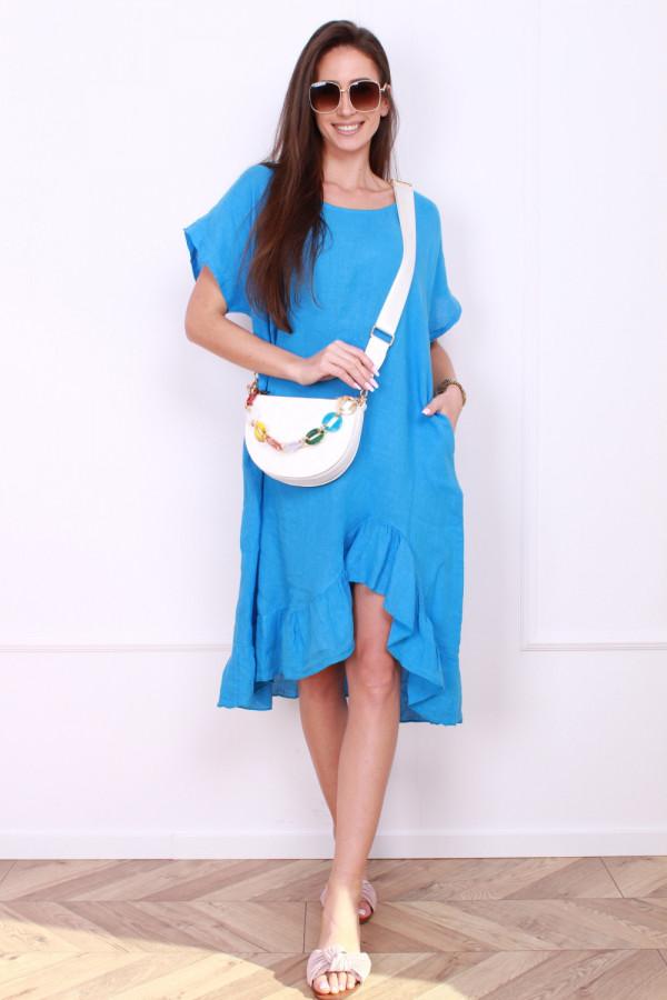 Sukienka lniana 8