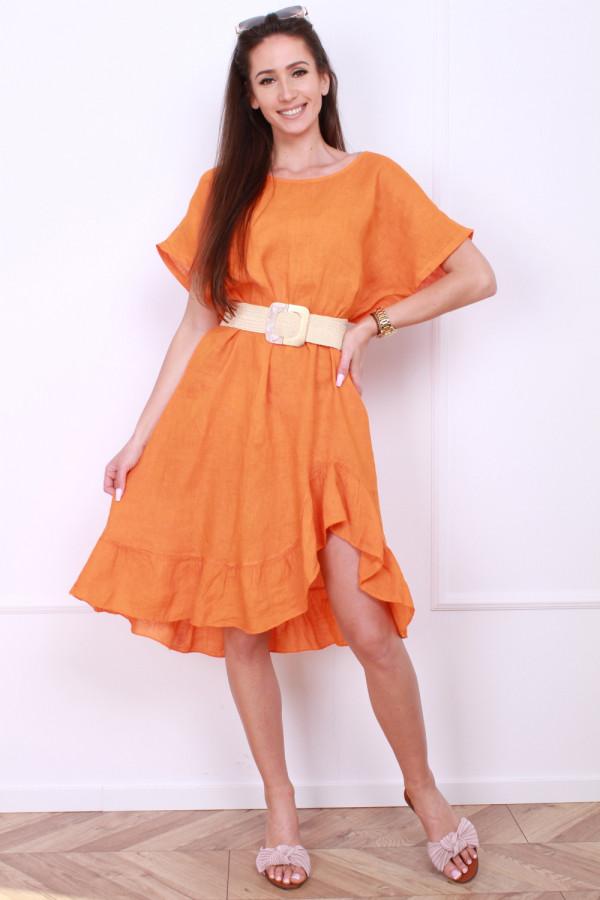 Sukienka lniana 9