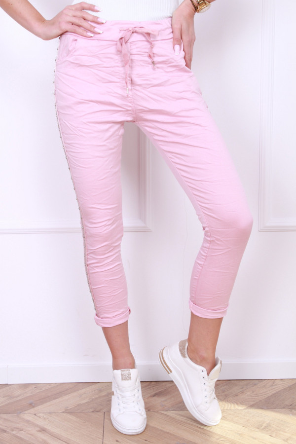 Gniecione spodnie 3