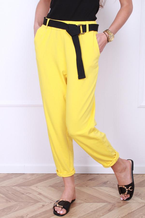 Spodnie dresowe z paskiem 4