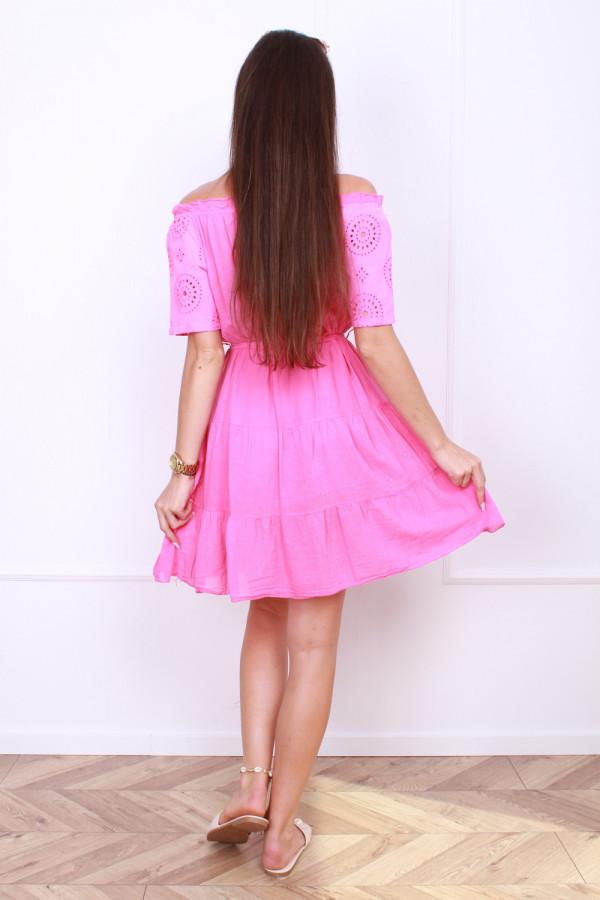 Sukienka z paskiem 2