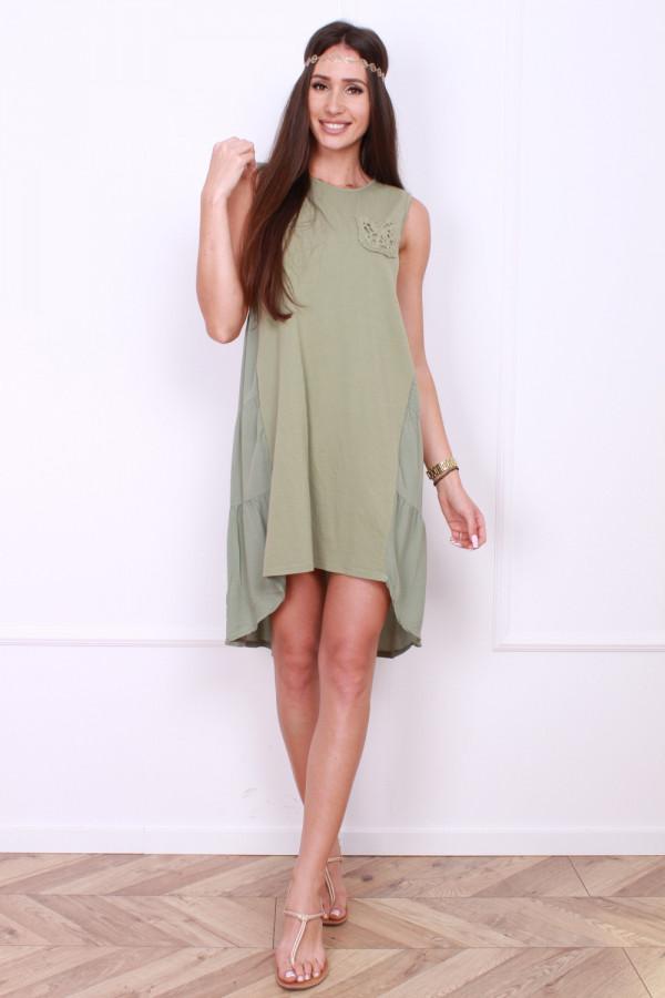 Sukienka z asymetrycznym dołem 5