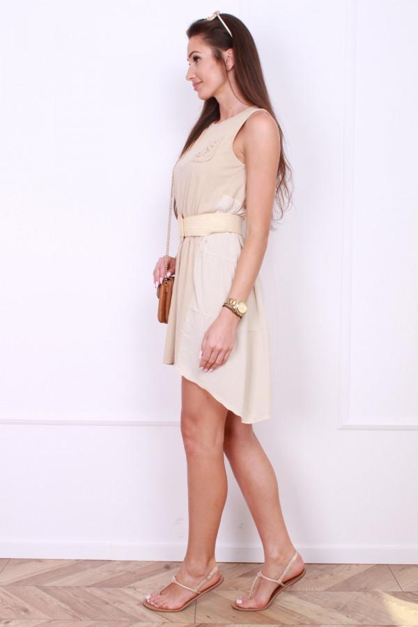 Sukienka z asymetrycznym dołem 1