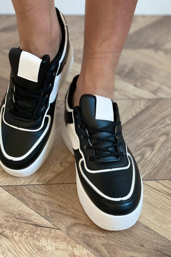 Buty czarne sportowe