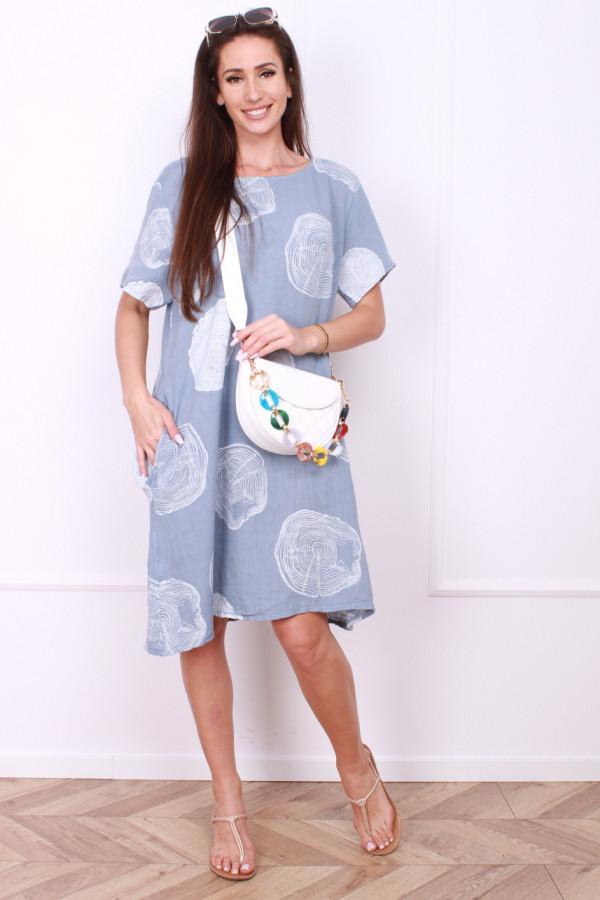 Sukienka lniana klasyczna 3