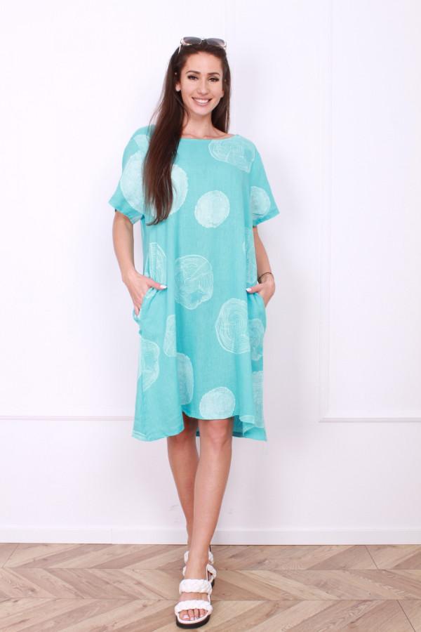 Sukienka lniana klasyczna 7