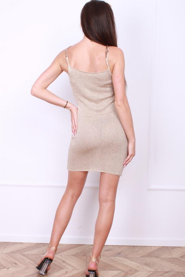 Złota sukienka 2
