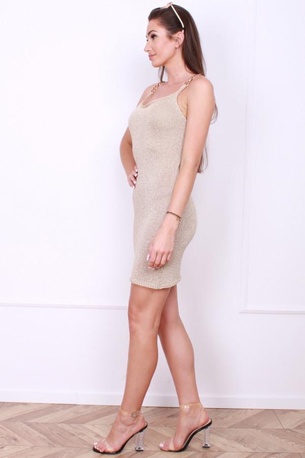 Złota sukienka 1