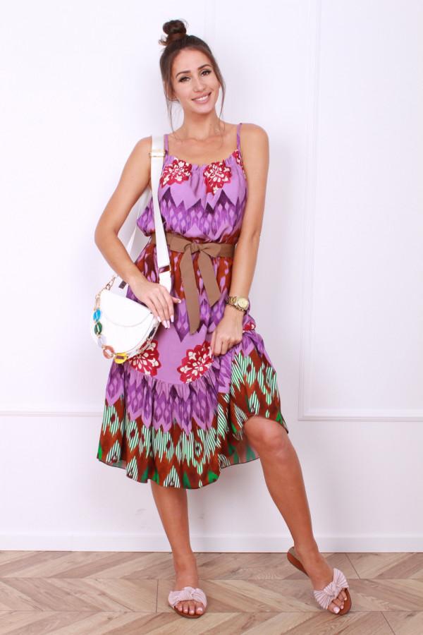 Sukienka z paskiem 3