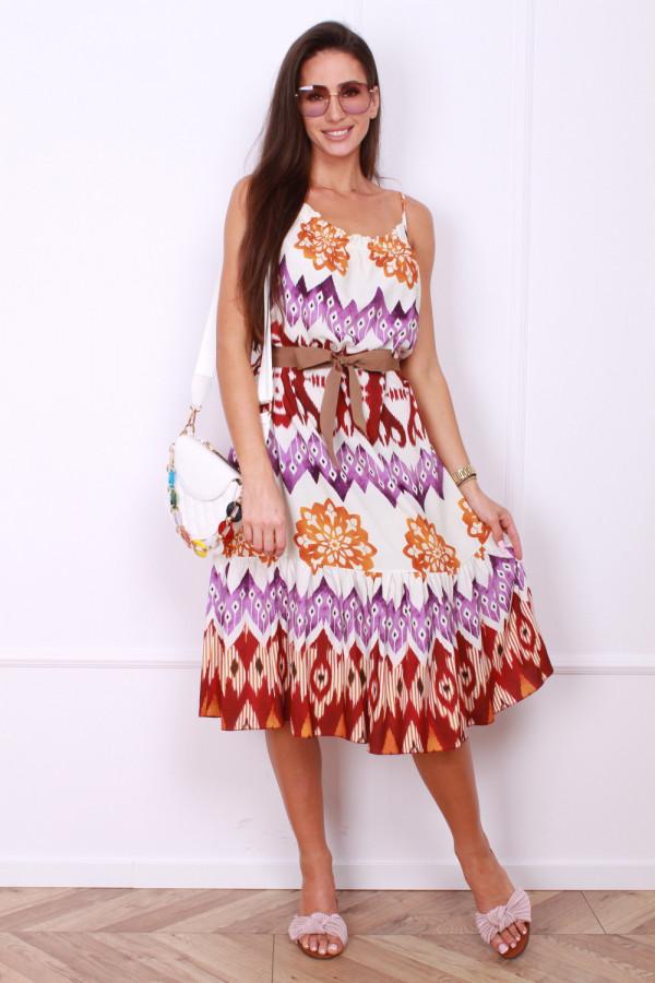 Sukienka z paskiem 4