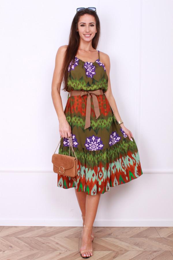 Sukienka z paskiem 5