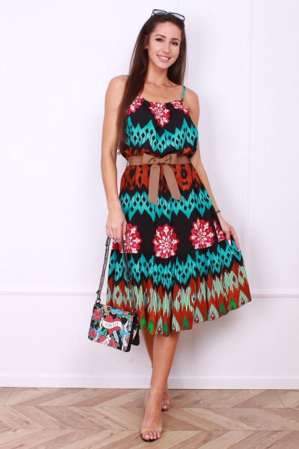 Sukienka z paskiem 6