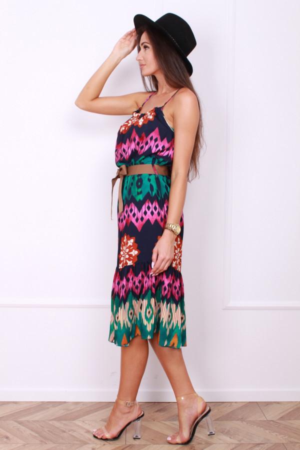 Sukienka z paskiem 1