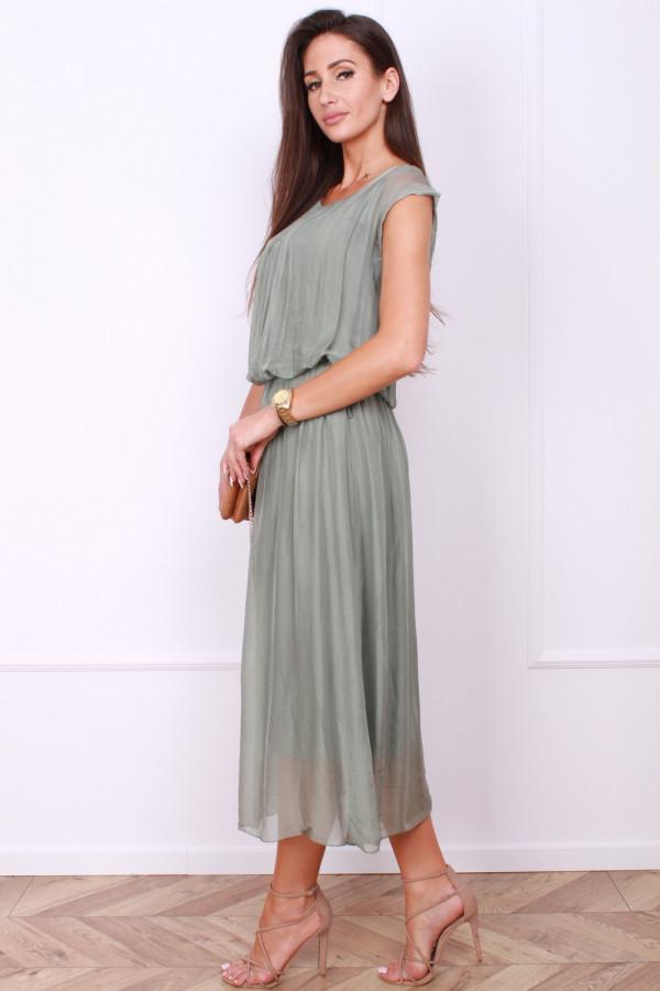 Sukienka gładka długa 1
