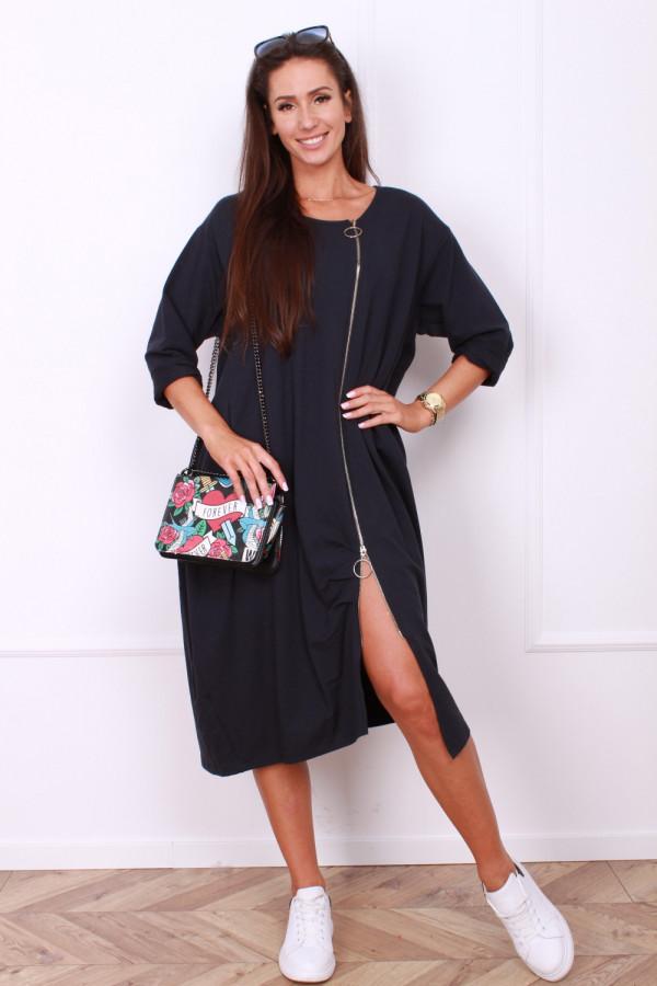 Sukienka z długim suwakiem 4