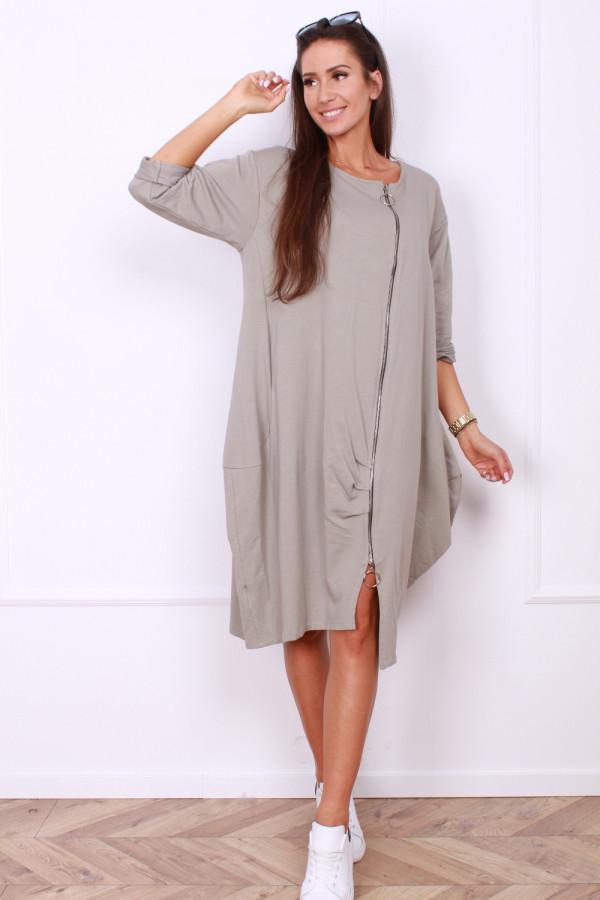 Sukienka z długim suwakiem 6