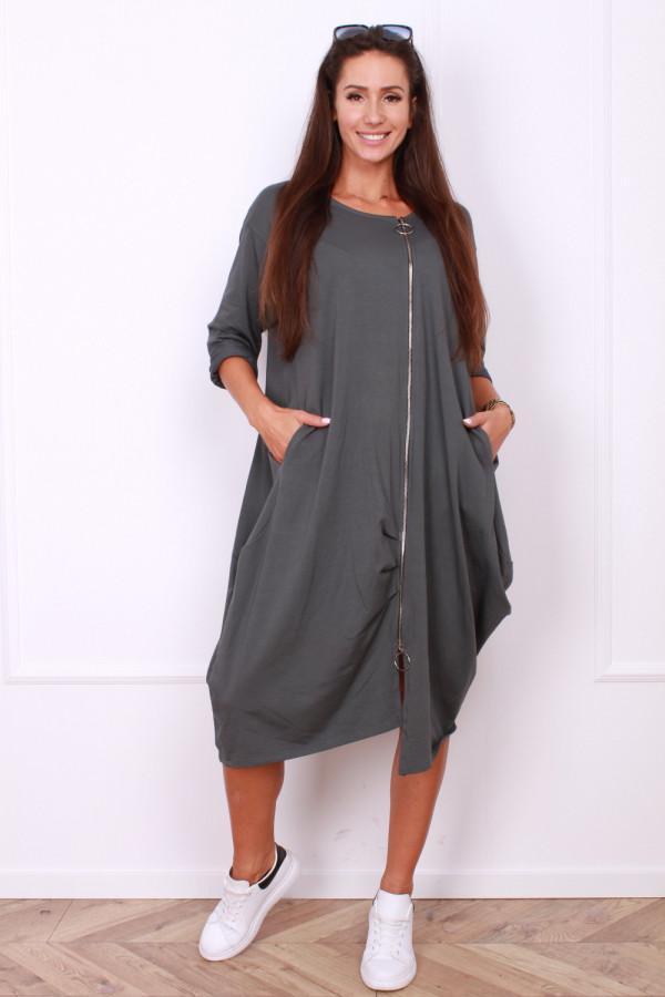 Sukienka z długim suwakiem 7