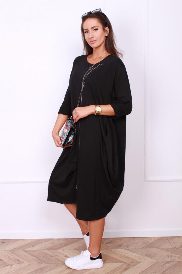 Sukienka z długim suwakiem 1