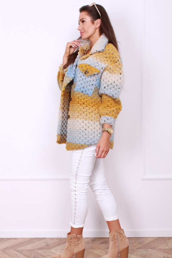 Kolorowy płaszcz 1