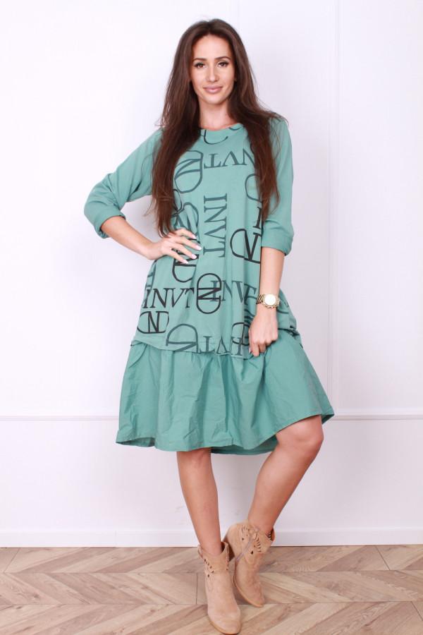 Sukienka w napisy 7