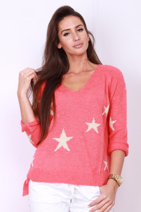 Sweter w gwiazdki 3
