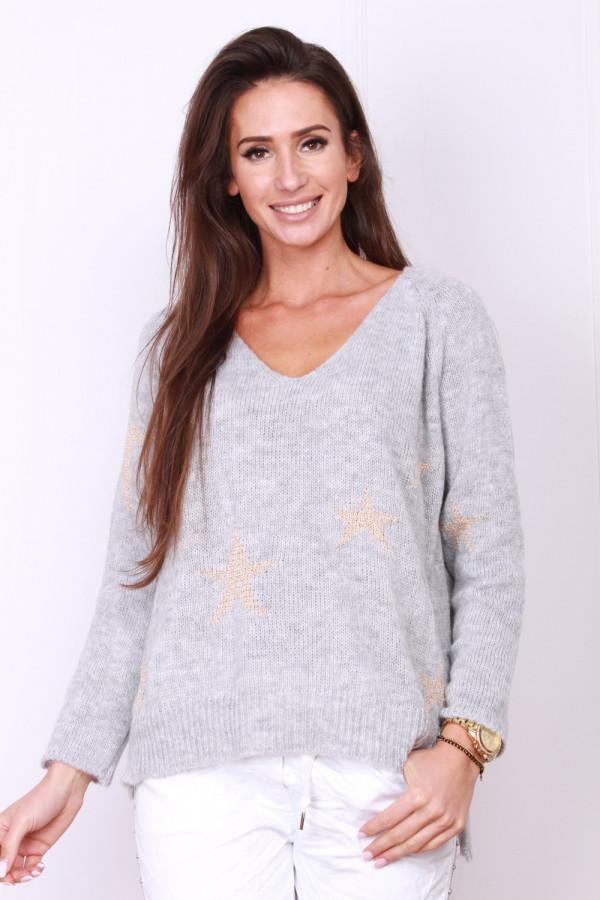 Sweter w gwiazdki 4