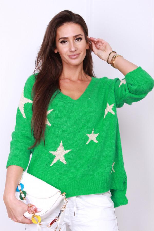 Sweter w gwiazdki 5