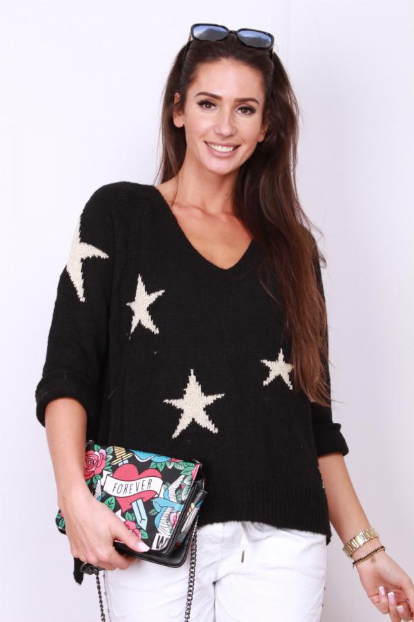 Sweter w gwiazdki 7