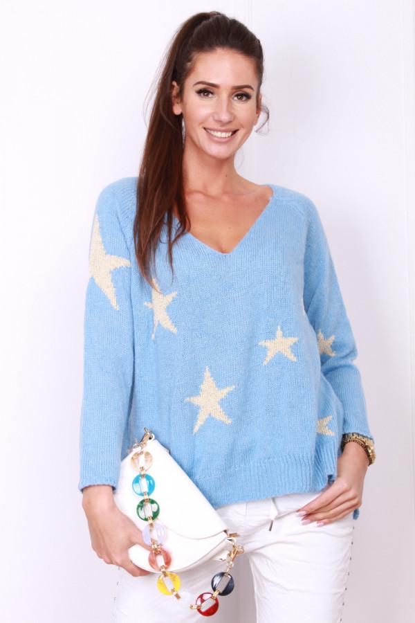 Sweter w gwiazdki 9