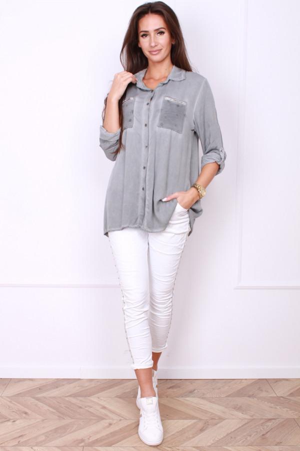 Koszula z kieszonkami