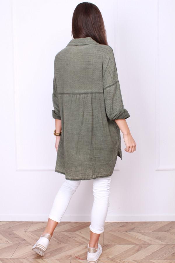 Długa koszula bawełniana 2