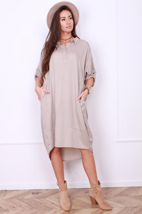 Sukienka z kółkiem