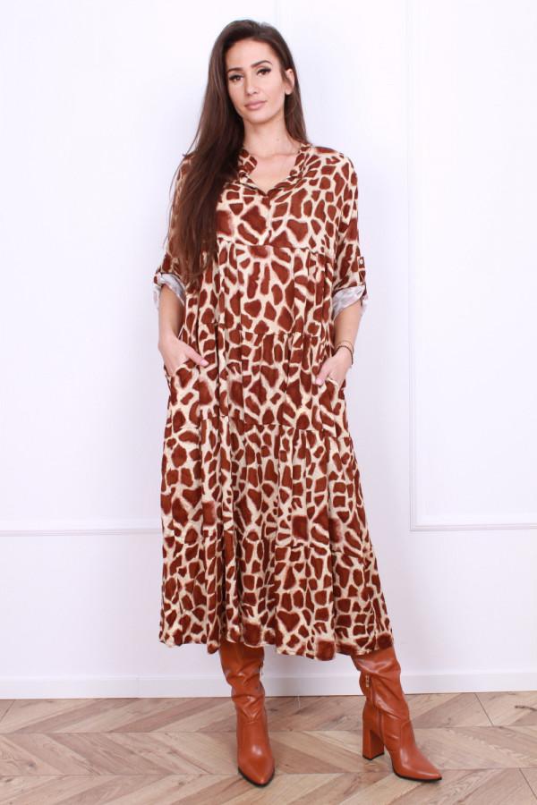 Wiskozowa sukienka Wild