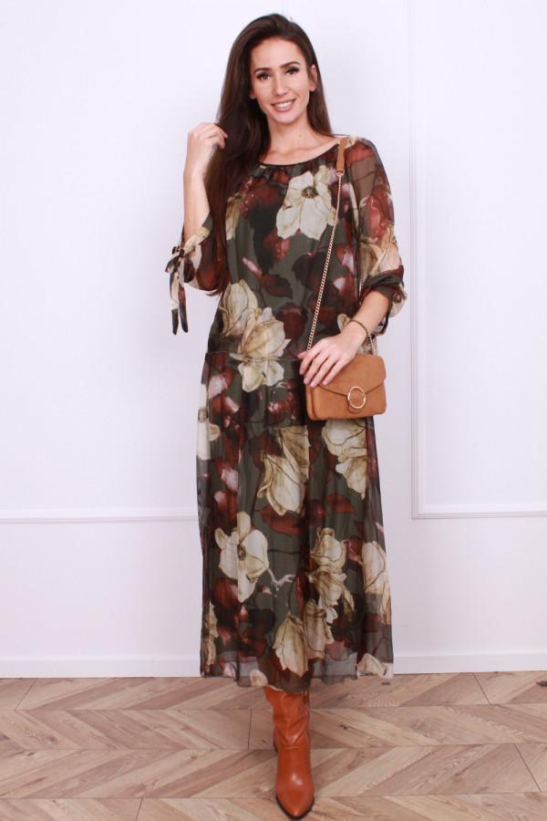 Długa sukienka Delicate