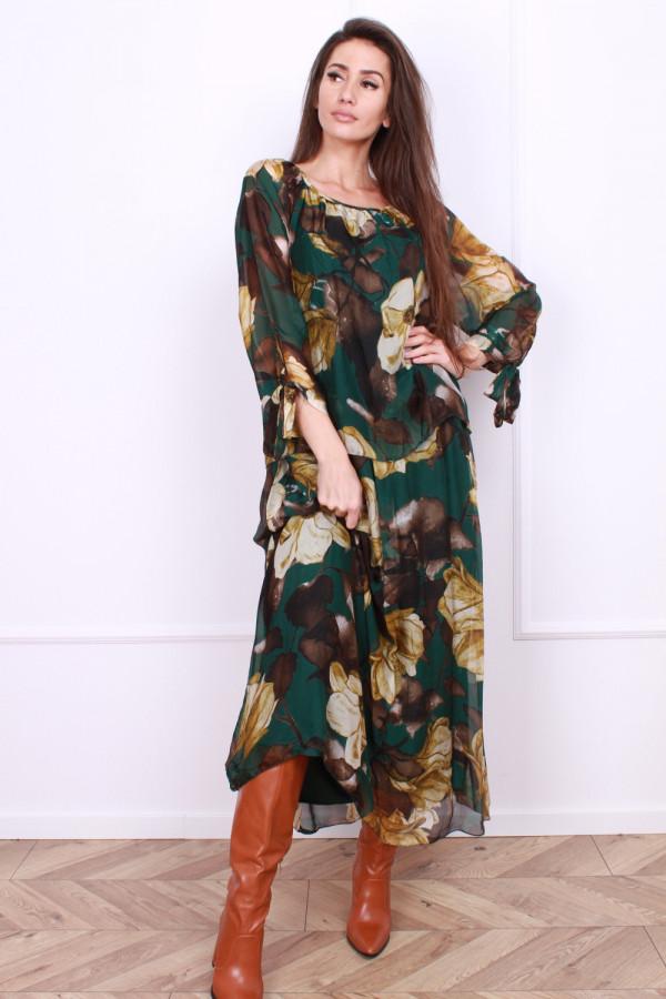 Długa sukienka Delicate 3