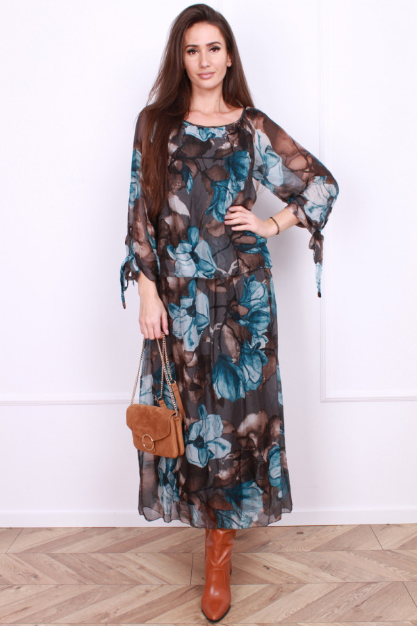 Długa sukienka Delicate 4
