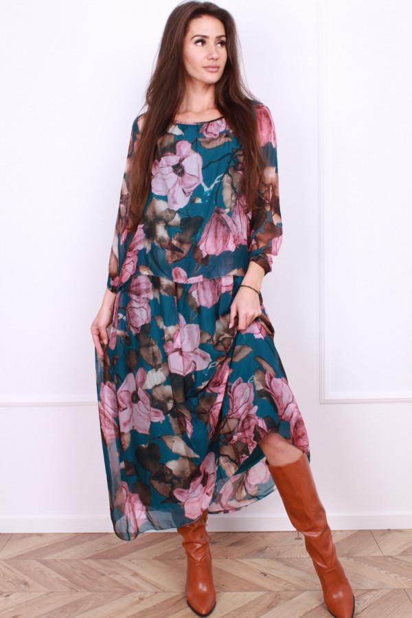 Długa sukienka Delicate 5